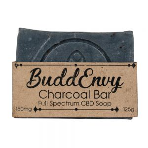 BuddEnvy | CBD Activated Charcoal Soap Bar